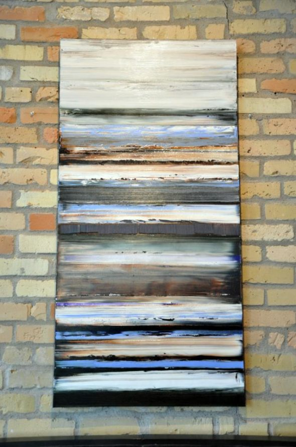 Melt, Freeze, Melt (2012, oil on canvas 24 x 48, $1100)