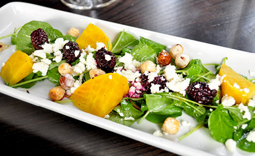 Blackberry & Watercress Salad